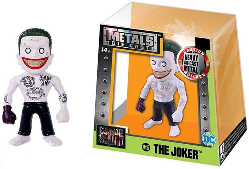 Suicide Squad Metals Die Cast The Joker Action Figure M427 [Black Glove]