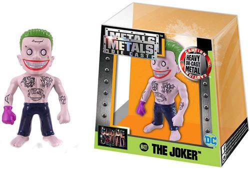 DC Suicide Squad Metals Die Cast The Joker Action Figure M421 [Pink Glove]