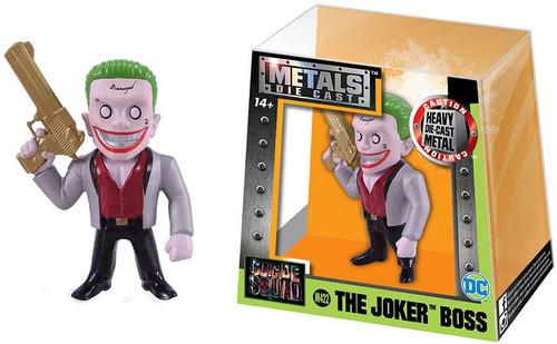 DC Suicide Squad Metals The Joker Action Figure M422 [Silver Suit]