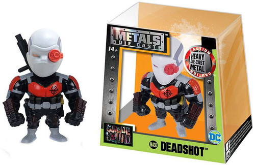 DC Suicide Squad Metals Deadshot Action Figure M430 [Black & Red]