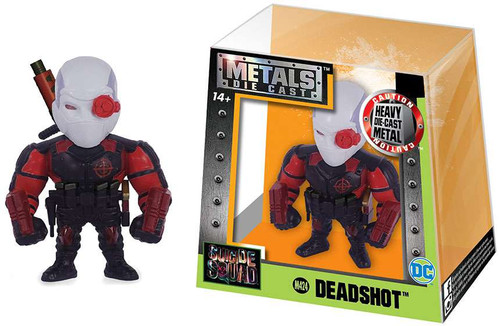 DC Suicide Squad Metals Deadshot Action Figure M424 [Red & Black]