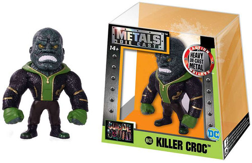 DC Suicide Squad Metals Killer Croc Action Figure M431 [Green]