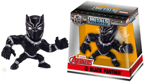 "Marvel Avengers Metals Black Panther Action Figure M502 [2.5""]"