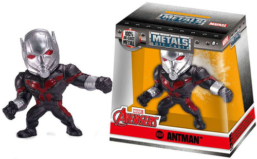 "Marvel Avengers Metals Antman Action Figure M504 [2.5""]"