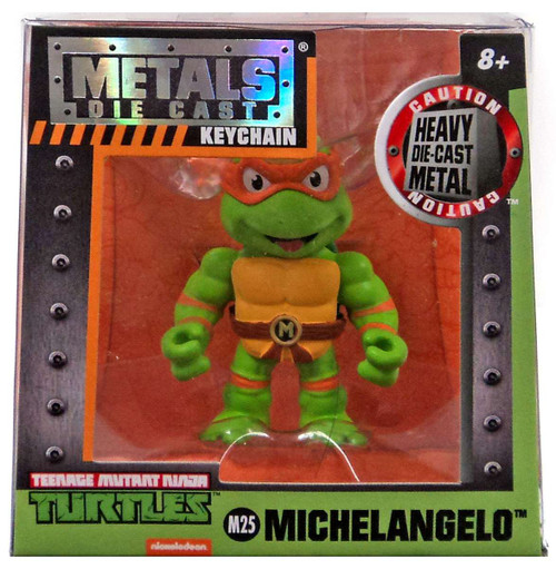 Teenage Mutant Ninja Turtles Metals Die Cast Michelangelo 2-Inch Keychain M25