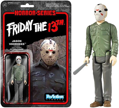 Funko Friday the 13th ReAction Jason Voorhees Action Figure [No Machete Loose]