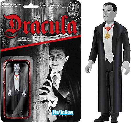 Funko Universal Monsters ReAction Dracula Action Figure [Loose]