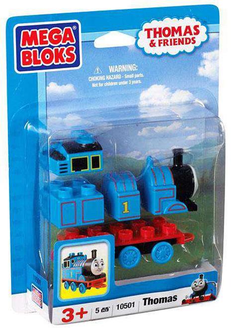 Mega Bloks Thomas & Friends Thomas Set #10501 [Damaged Package]