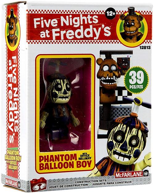 McFarlane Toys Five Nights at Freddy's Office Hallway Micro Construction Set [Phantom Balloon Boy]