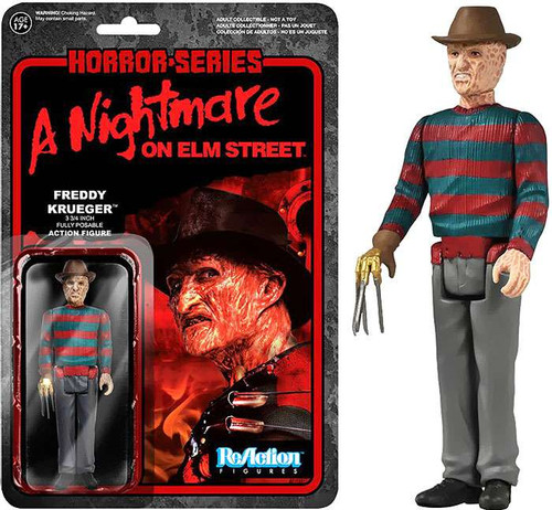 Funko Nightmare on Elm Street ReAction Freddy Krueger Action Figure [Loose]