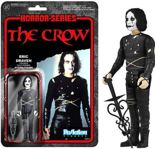 Funko ReAction The Crow Action Figure [Loose]