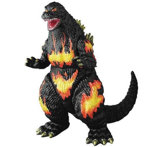 Godzilla Vs Destroyah Sofubi Burning Godzilla Vinyl Figure [Roaring Version]