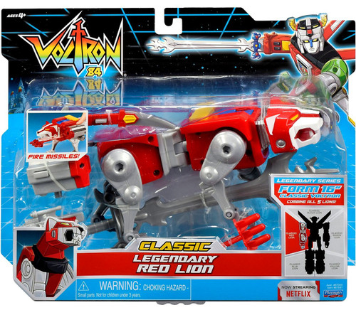 Voltron 84 CLASSIC Legendary Red Lion Combinable Action Figure