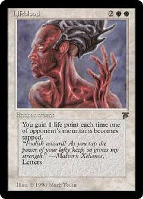 MtG Legends Rare Lifeblood