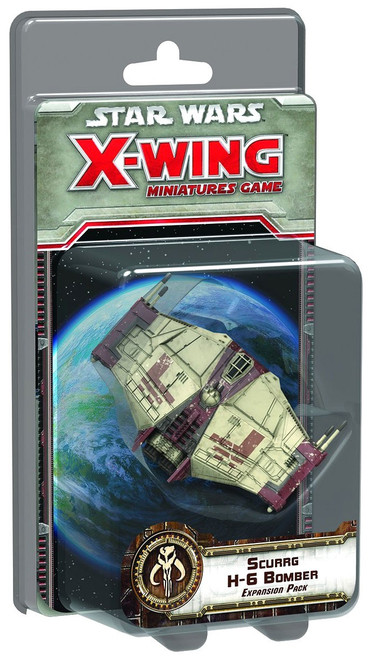 Star Wars X-Wing Miniatures Game Scurrg H-6 Bomber Expansion Pack