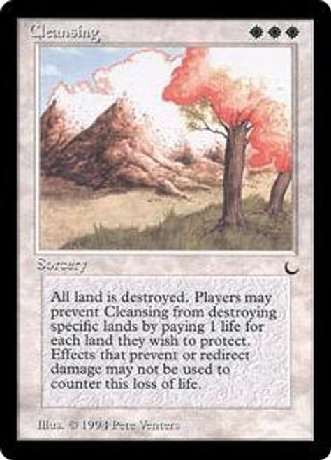 MtG The Dark Rare Cleansing [Slightly Played]