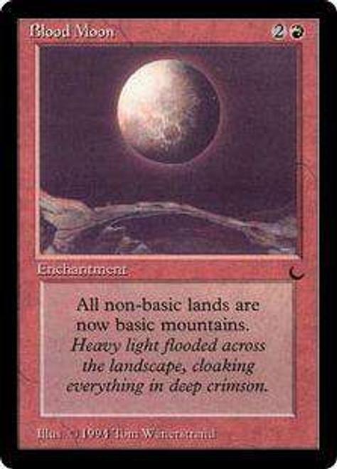 MtG The Dark Rare Blood Moon [Played]