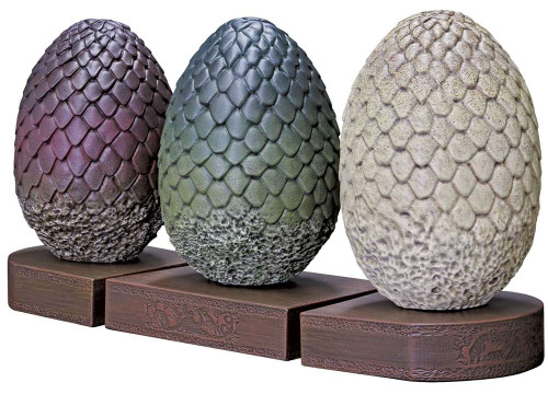 Game of Thrones Dragon Egg 7-Inch Bookends