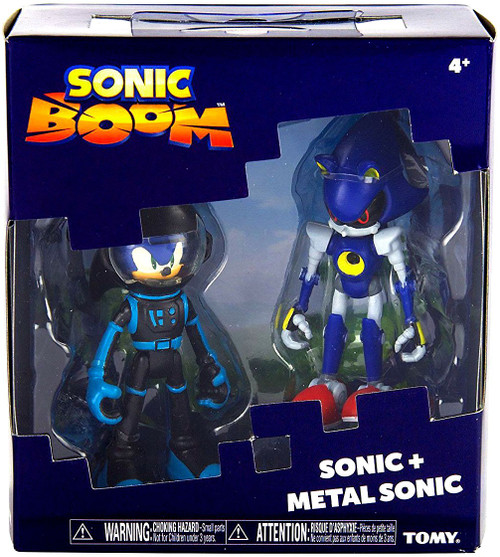 Sonic The Hedgehog Sonic Boom Sonic & Metal Sonic Action Figure 2-Pack