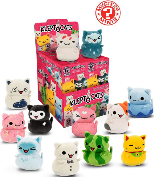 Funko Mystery Minis Plush KleptoCats Series 1 Mystery Box [12 Packs]
