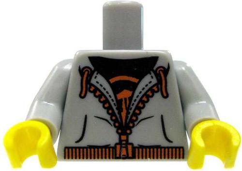 LEGO Gray Zip-Up Hoodie Torso [Loose]