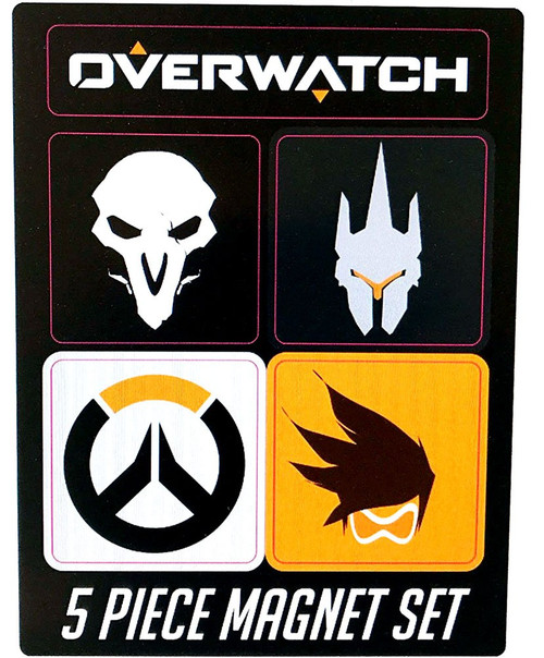 Overwatch Magnets 5 Piece Set