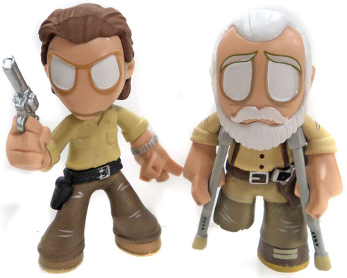 Funko The Walking Dead Series 3 Mystery Minis Rick with Hershel Mystery Minifigure [Loose]