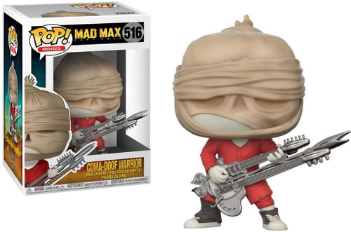 Funko Mad Max Fury Road POP! Movies Coma-Doof Warrior Vinyl Figure #516 [Head Wrap]