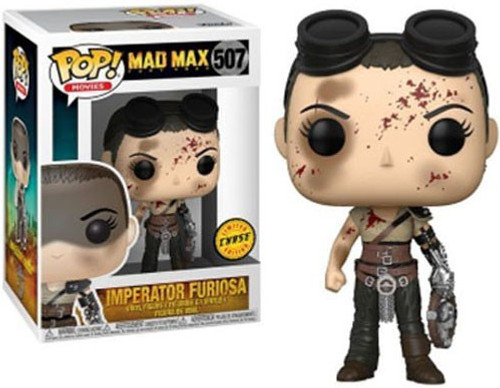 Funko Mad Max Fury Road POP! Movies Imperator Furiosa Vinyl Figure #507 [Bloody Face, Chase Version]