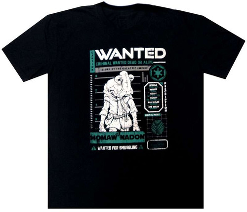 Funko Star Wars A New Hope Momaw Nadon: Wanted Exclusive T-Shirt [X-Large]