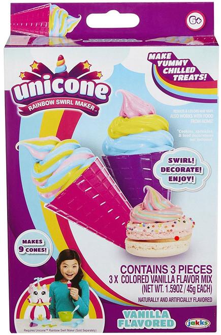 Unicone Vanilla Flavored Refill Pack [Makes 9 Cones]