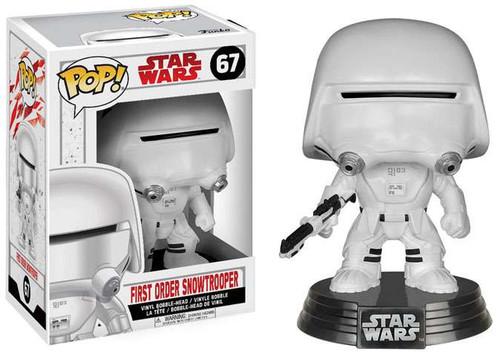 Funko The Last Jedi POP! Star Wars First Order Snowtrooper Vinyl Bobble Head #67