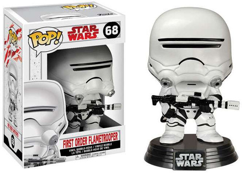 Funko The Last Jedi POP! Star Wars Flametrooper Vinyl Bobble Head #68