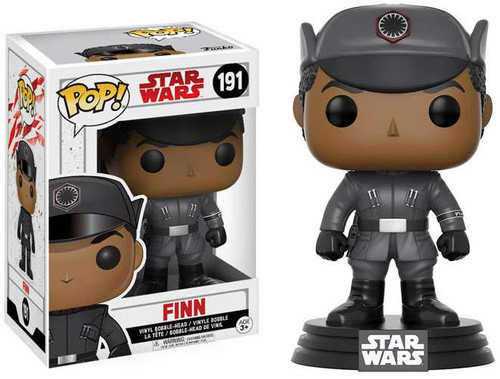 Funko The Last Jedi POP! Star Wars Finn Vinyl Bobble Head #191