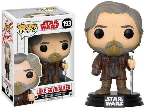 Funko The Last Jedi POP! Star Wars Luke Skywalker Vinyl Bobble Head #193