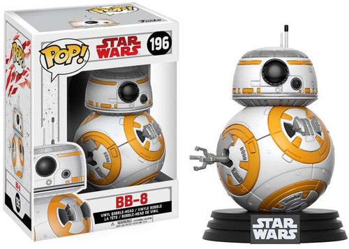 Funko The Last Jedi POP! Star Wars BB-8 Vinyl Bobble Head #196