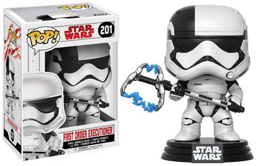 Funko The Last Jedi POP! Star Wars First Order Executioner Vinyl Bobble Head #201