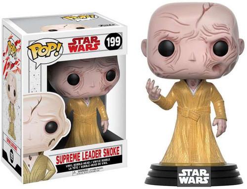 Funko The Last Jedi POP! Star Wars Supreme Leader Snoke Vinyl Bobble Head #199
