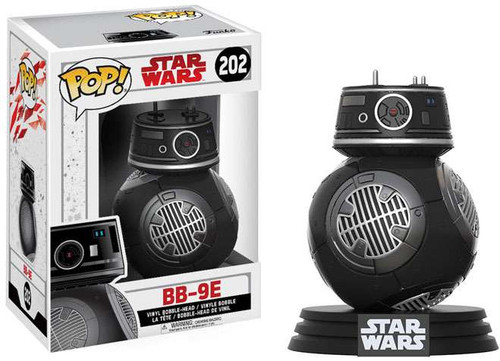 Funko The Last Jedi POP! Star Wars BB-9E Vinyl Bobble Head #202