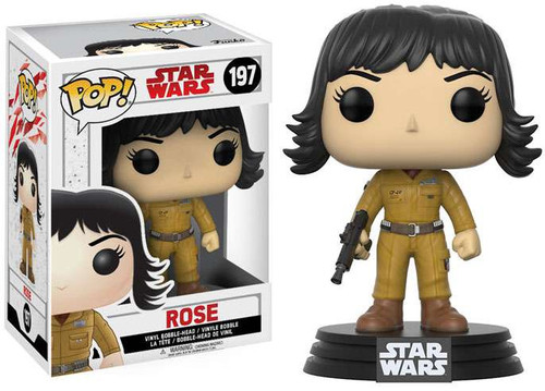 Funko The Last Jedi POP! Star Wars Rose Vinyl Bobble Head #197