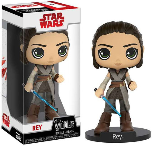 Funko Star Wars The Last Jedi Wobblers Rey Bobble Head