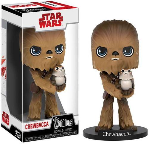 Funko Star Wars The Last Jedi Wobblers Chewbacca Bobble Head