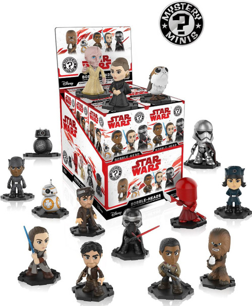 Funko Star Wars Mystery Minis The Last Jedi Mystery Box [12 Packs]
