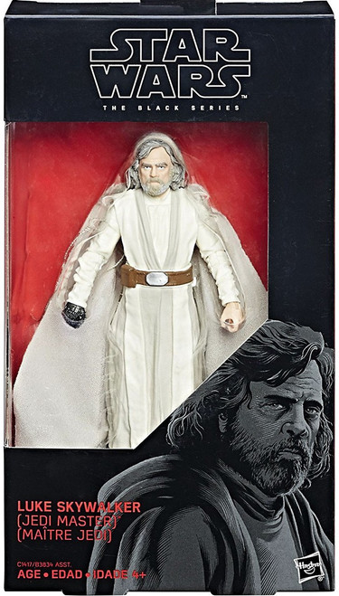 Star Wars The Last Jedi Black Series Wave 23 Luke Skywalker Action Figure [Jedi Master]
