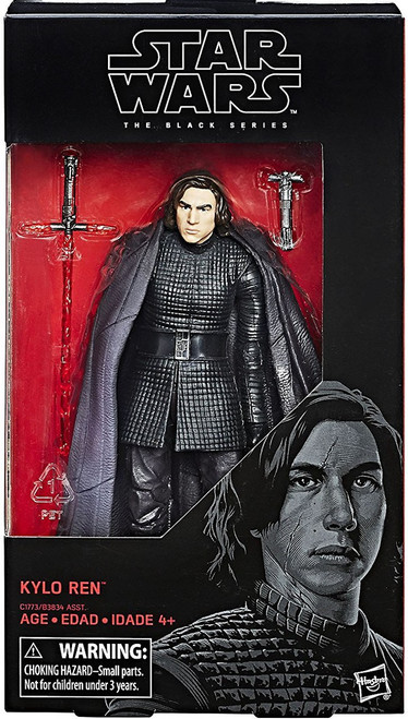 Star Wars The Last Jedi Black Series Wave 23 Kylo Ren Action Figure