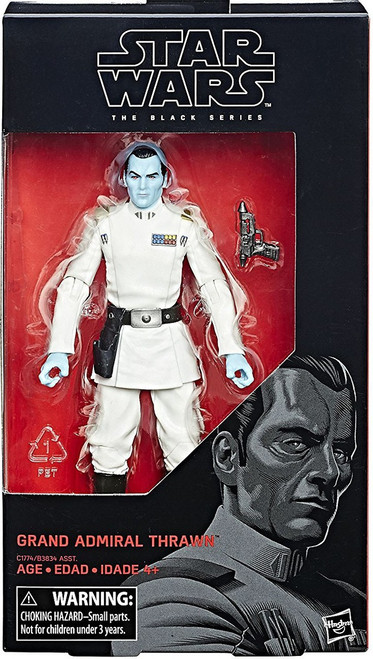 Star Wars Rebels Black Series Wave 23 Grand Admiral Thrawn Action Figure