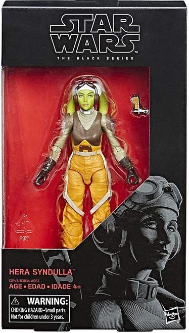 Star Wars Rebels Black Series Wave 23 Hera Syndulla Action Figure
