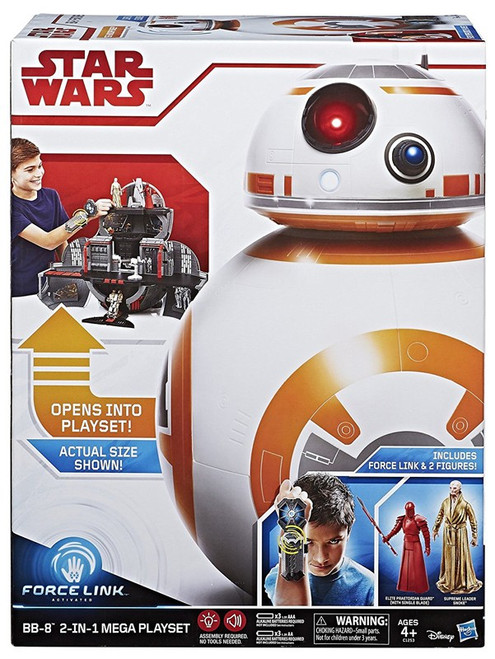 Star Wars The Last Jedi Force Link BB-8 2-in-1 Mega Playset