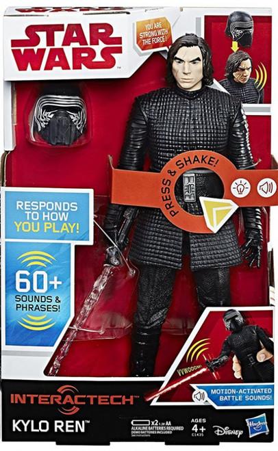 Star Wars The Last Jedi Hero Series Interactech Kylo Ren Electronic Action Figure