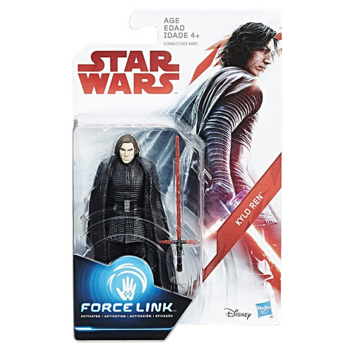 Star Wars The Last Jedi Force Link Orange Series Wave 1 Kylo Ren Action Figure